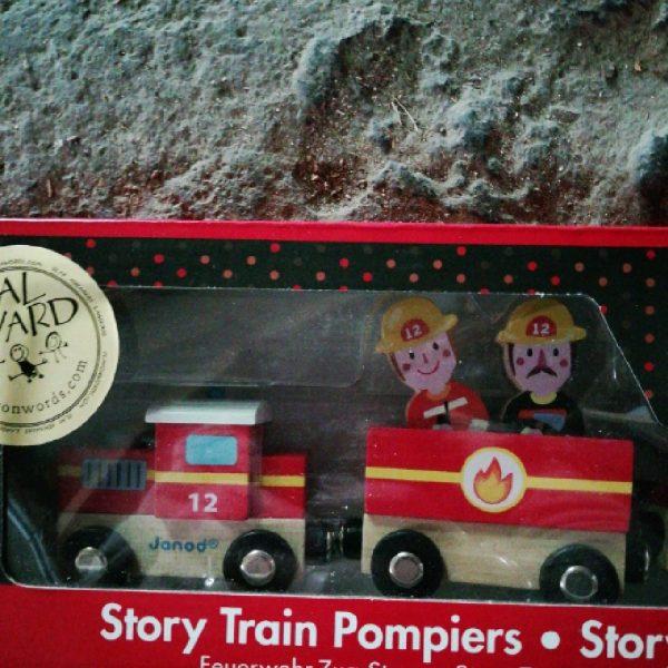 Train magnétique pompier