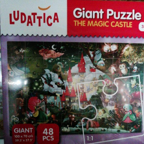 Puzzle géant chateau