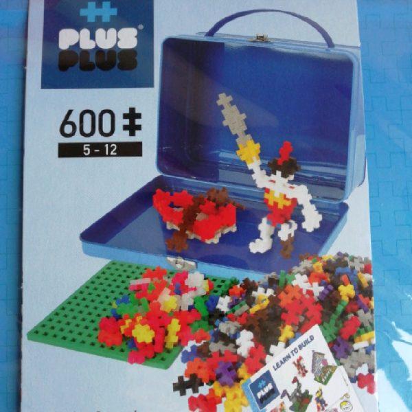Valise bleu 600 plus plus mini Basic