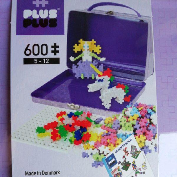 Valise violette 600 plus plus mini Pastel